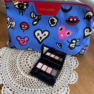 Estée Lauder Pure Envy Eye Shadow and bag